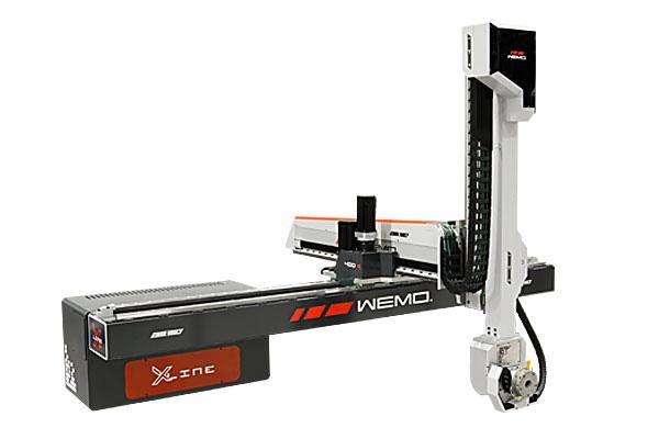 WEMO X-Line robot za manipulacijo z večjimi izdelki in napredno avtomatizacijo